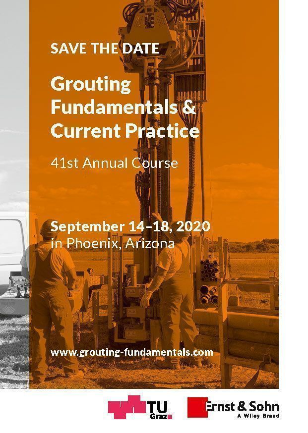 Grouting Fundamentals & Current Practice 2020 save the date postcard web
