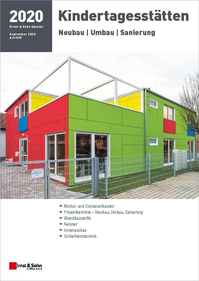 Special Kindertagesstätten 2020 erschienen