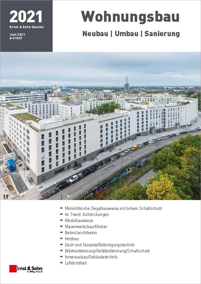 Themenheft Wohnungsbau 2021 erschienen