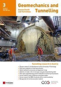 Geomechanics & Tunnelling 03/2018