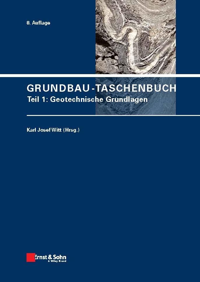Neu im April: Grundbau-Taschenbuch Teil 1