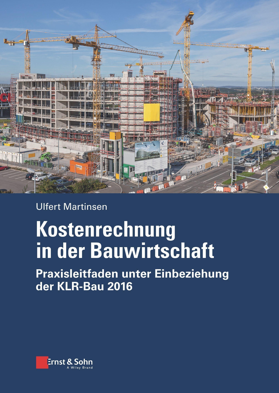 Neu im April: Kostenrechnung in der Bauwirtschaft