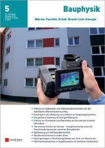 Cover Zeitschrift Bauphysik 05-2016
