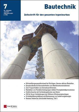 Bautechnik Titelbild 2013/7