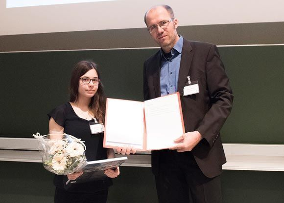 Preisübergabe Susanne Held