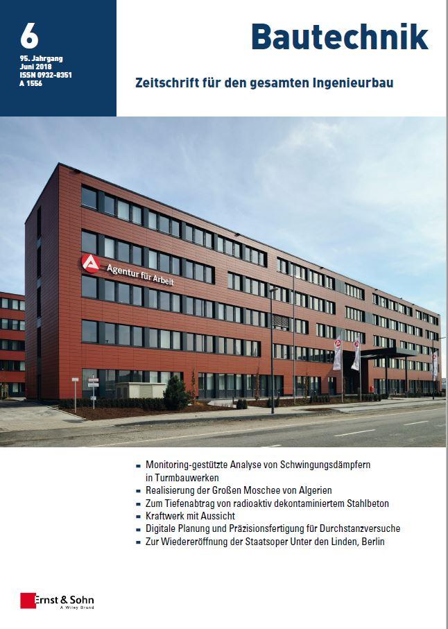 Bautechnik 6/2018
