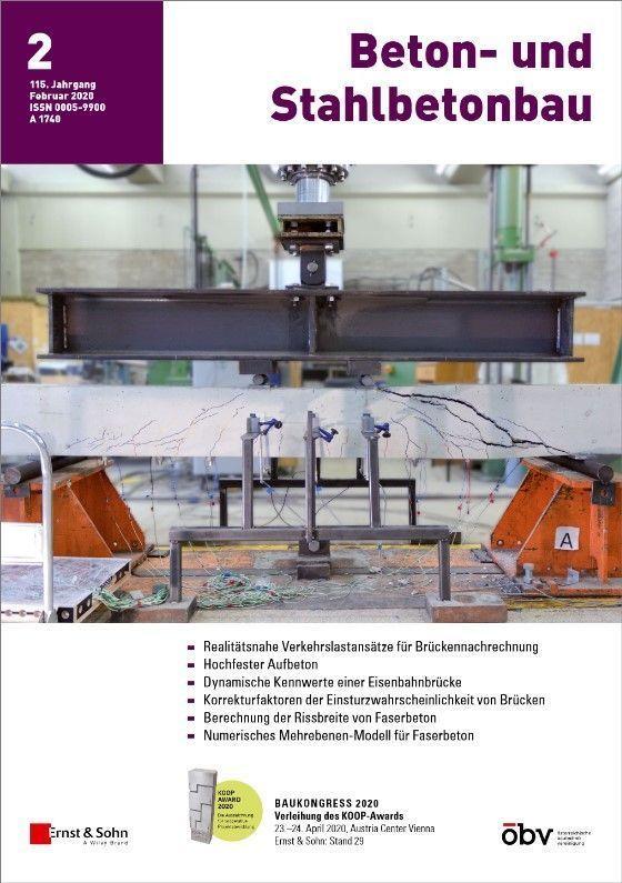 Zeitschrift Beton- und Stahlbetonbau 02/20 erschienen