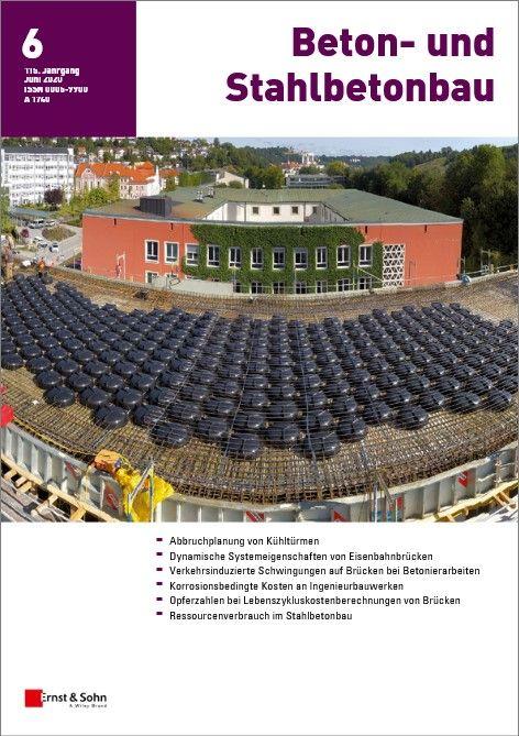 Zeitschrift Beton- und Stahlbetonbau 06/20 erschienen