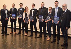 Die Jahrgangsbesten der FH Münster 2015-2016