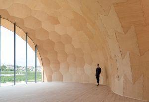 Forstpavillion - Blick in den Pavillon © ICD/ITKE/IIGS Universität Stuttgart