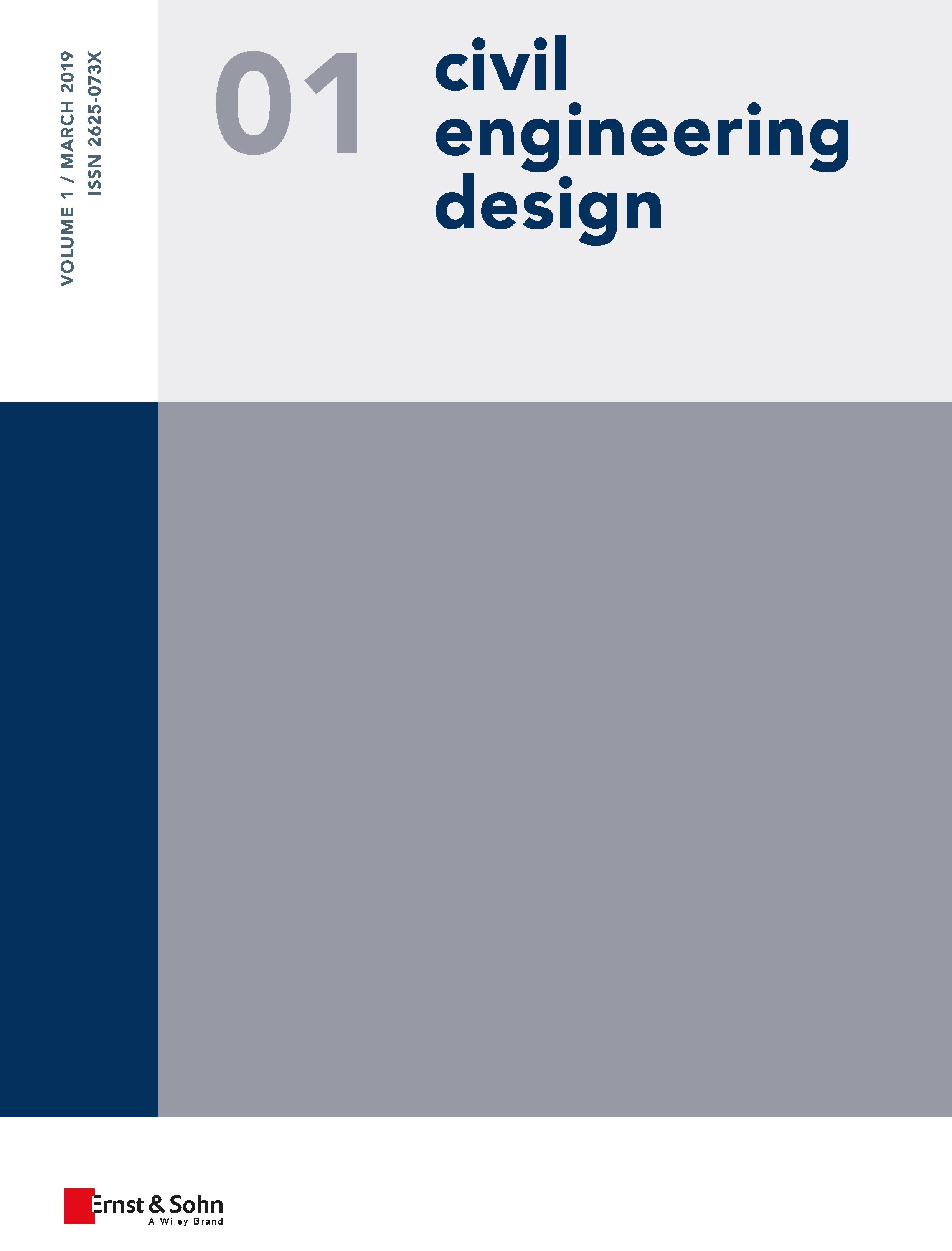 Civil Engineering Design Volume 1 / March 2019