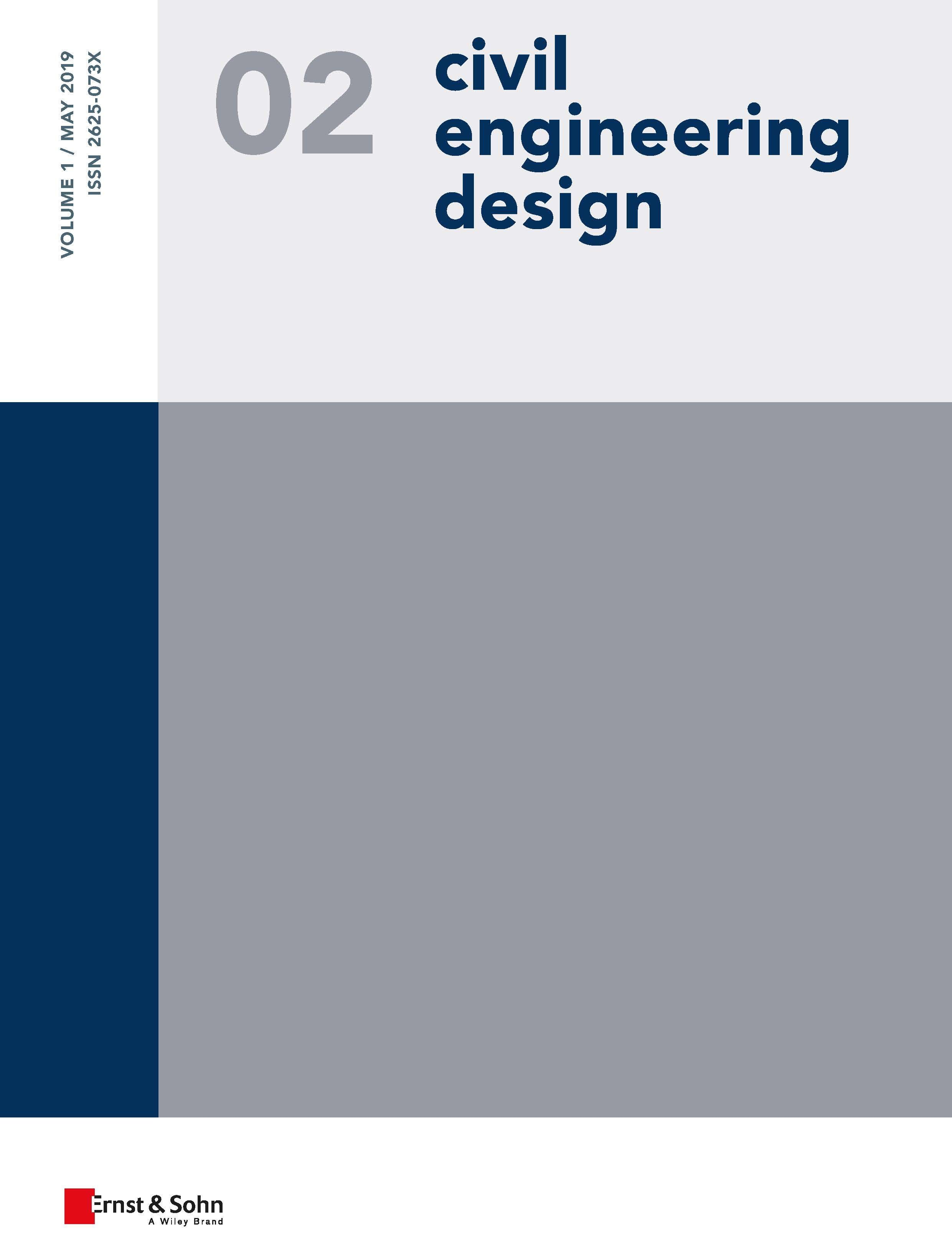 Civil Engineering Design 2/2019 published