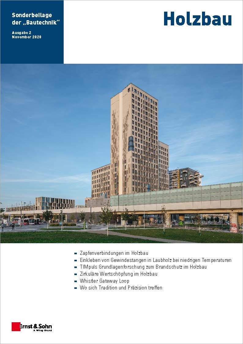 Holzbau Bautechnik Sonderheft 11/20 erschienen