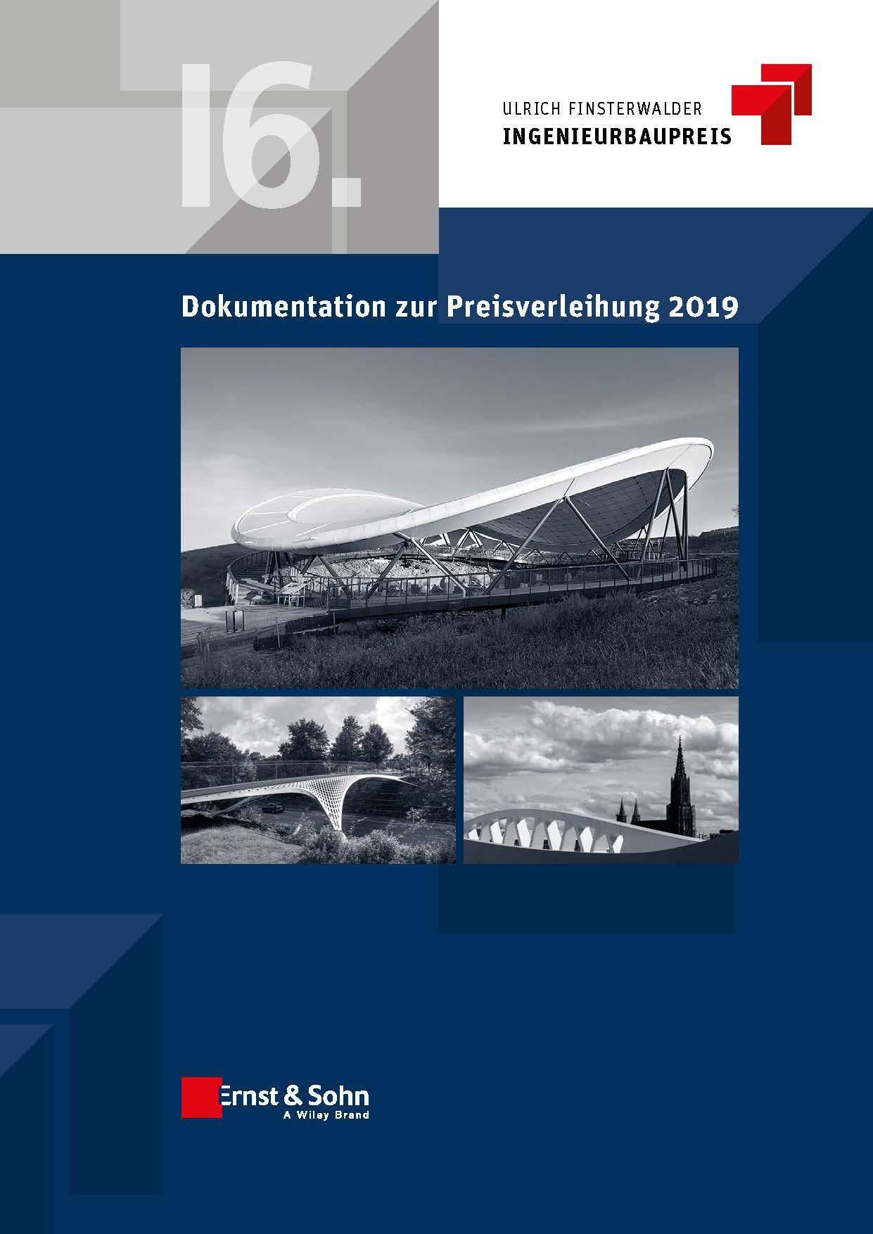 Cover Dokumentation Ulrich Finsterwalder Ingenieurbaupreis 2019