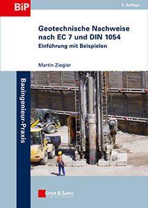 Cover_Geotechnische Nachweise nach EC 7 und DIN 1054 - Einführung mit Beispielen