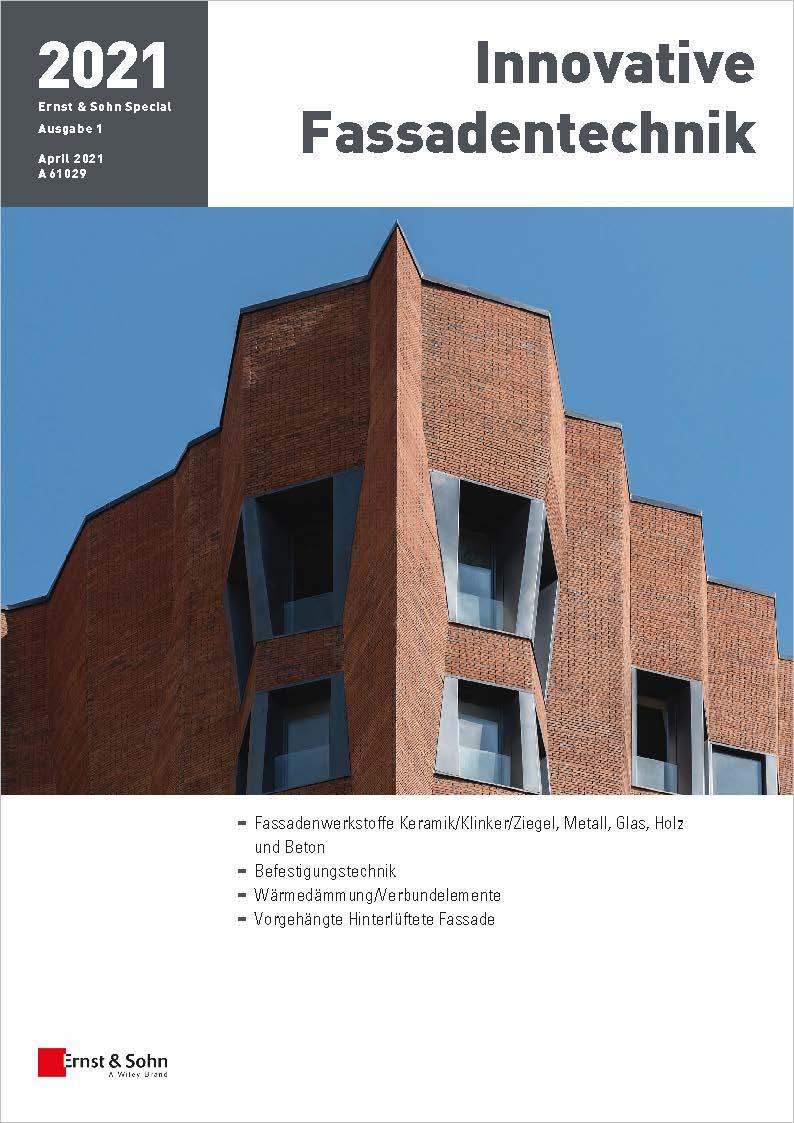 Special Innovative Fassadentechnik 1/2021 erschienen