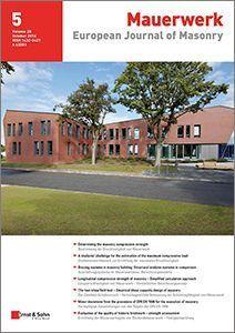 European Journal of Masonry 05/16