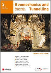The Construction of the Gotthard Base Tunnel