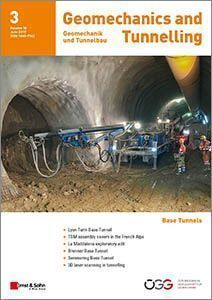 The latest content from our journal Geomechanics & Tunnelling 03/2017: The Mont Cenis Base Tunnel