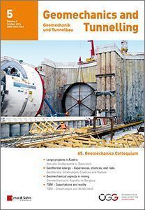 Geomechanics & Tunnelling 05/16
