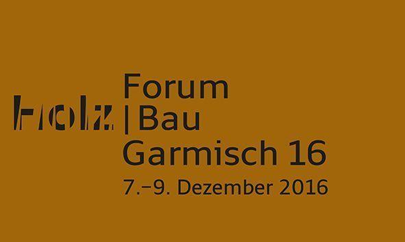 Holzbauforum Garmisch