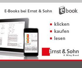 E-Books bei Ernst&Sohn