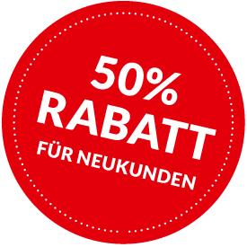 Sparen Sie bis zu 50%