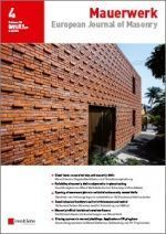 European Journal of Masonry 04/16