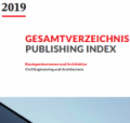 The new Ernst & Sohn Publishing Index 2019 is now online