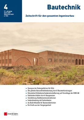 Jetzt mit der Zeitschrift Bautechnik kombinieren!