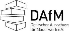Der 2018 gegründete Deutsche Ausschuss für Mauerwerk e.V. (DAfM) hat sich zum Ziel gesetzt, Wissenschaft und Anwendungsforschung auf dem Gebiet des Mauerwerksbaus zu fördern. Wichtiges Resultat der Arbeit des Ausschusses ist die Formulierung anwenderfreundlicher Richtlinien und praxisnaher Ausführungsregelungen für das Bauen mit Ziegeln, Kalksandsteinen, Porenbeton- und Leichtbetonsteinen.Mehr Informationen zu DGfM- und DAfM-Mitgliederkonditionen:www.ernst-und-sohn.de/dafm