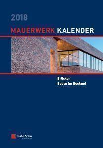 Mauerwerk-Kalender 2018
