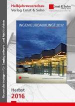 Halbjahresvorschau Ernst & Sohn Herbst 2016