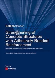 new publication: Strengthening of Concrete Structures with Adhesively Bonded Reinforcement