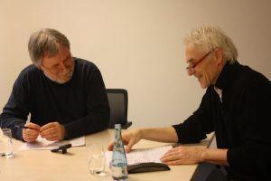 Klaus W. König im Gespräch mit Dr. Burkhard Talebitari