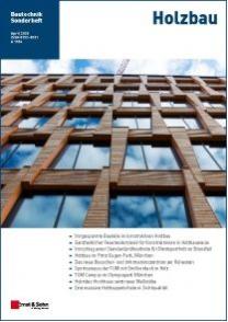 Cover Sonderheft Holzbau