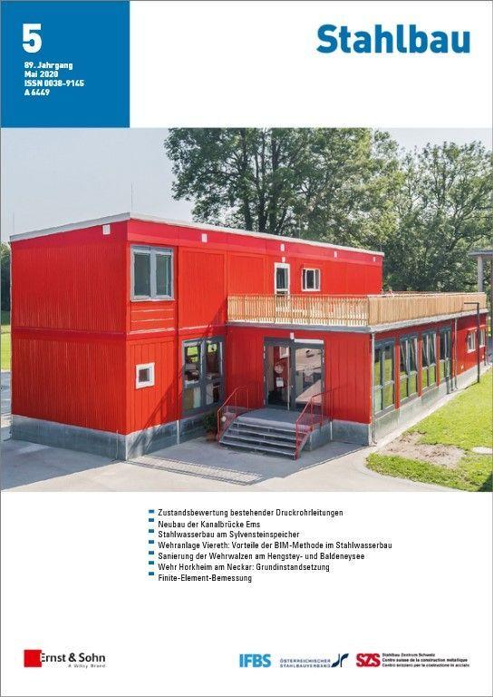 Zeitschrift Stahlbau 05/20 erschienen