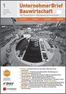 Cover_2488_UnternehmerBrief-Bauwirtschaft_2016-01