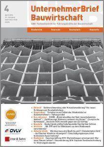 Cover_UnternehmerBrief Bauwirtschaft_2016_04