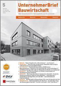 Cover_UnternehmerBrief Bauwirtschaft_2016_05